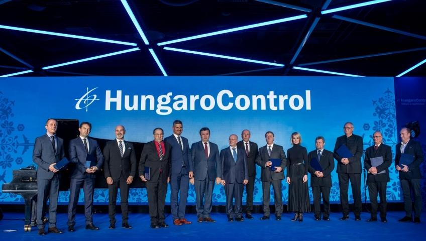 BULATSA получи награда за най-добър бизнес партньор за 2019 от HUNGAROCONTROL